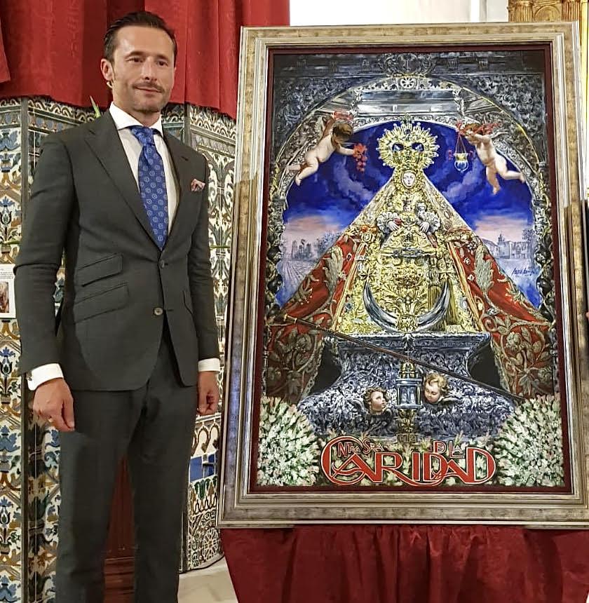 Javier Aguilar, cartelista de la Romería de Valme 2020