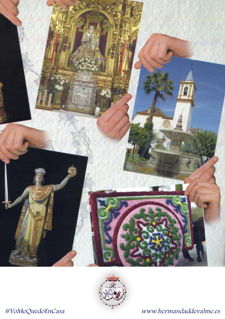 Láminas para colorear sobre la Virgen de Valme y su Romería