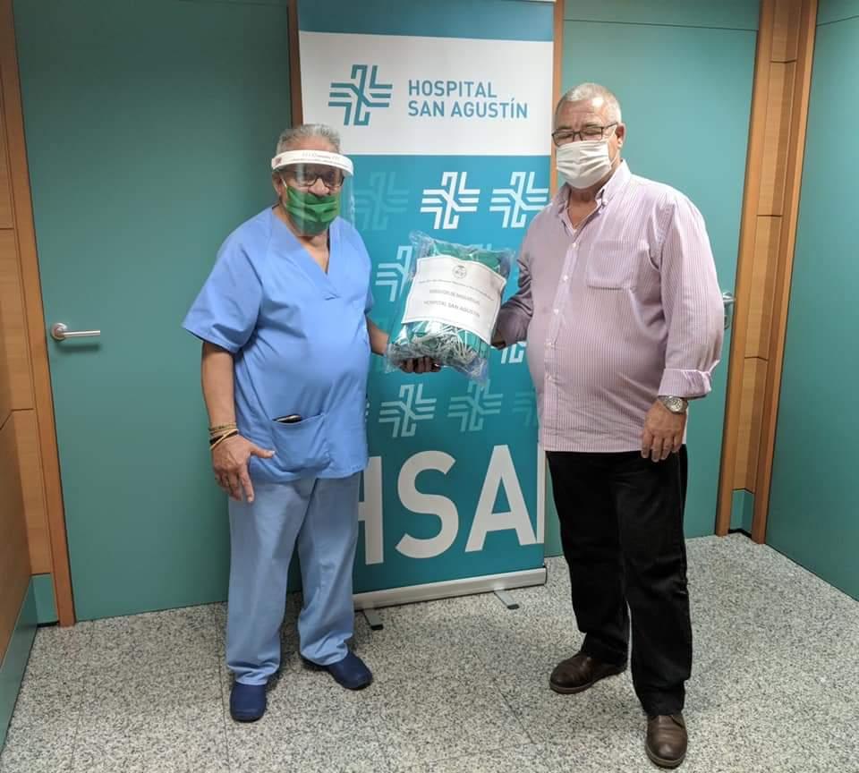 La Hermandad de Valme dona 1.500 mascarillas a hospitales, centros de salud y residencias
