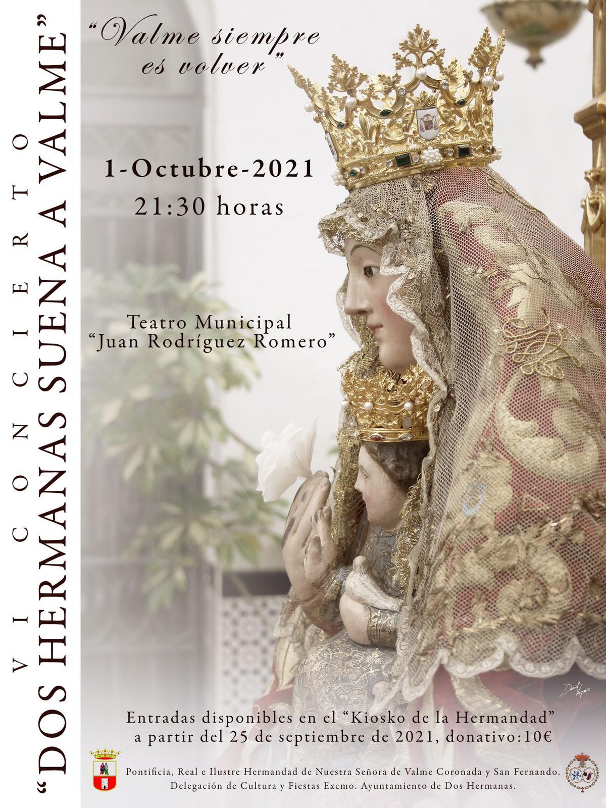 El Coro de la Hermandad, protagonista del concierto de vísperas que tendrá lugar el 1 de octubre en el Teatro Municipal 'Juan Rodríguez Romero'