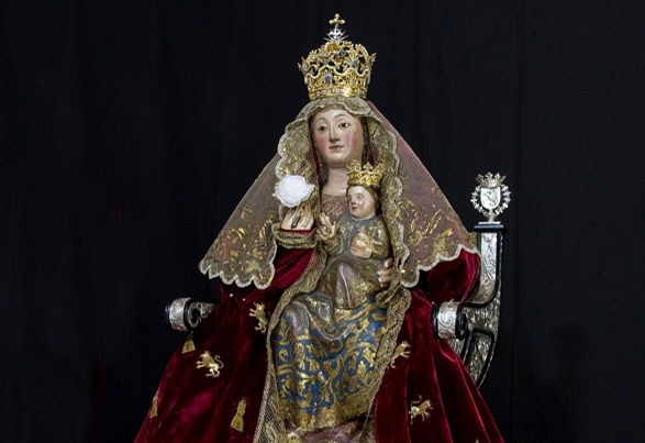 Resultado de imagen de Virgen de Valme